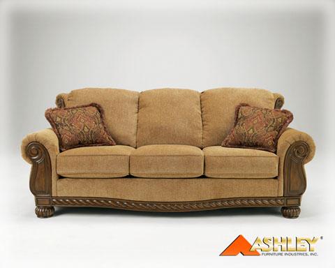 Burnham Amber Living Room Set