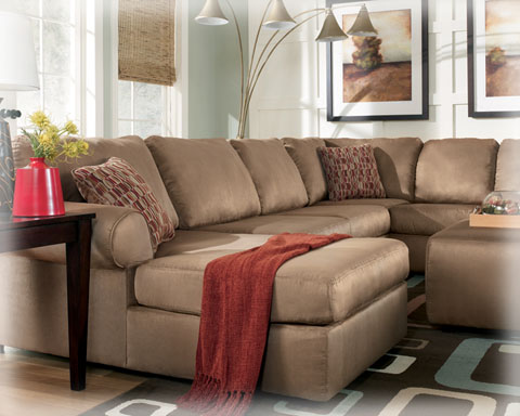 Liberty Lagana Furniture in Meriden CT The  Brando Cocoa  Sectional by Ashley Furniture : brando sectional - Sectionals, Sofas & Couches