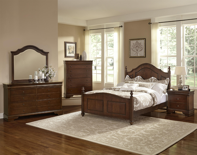Liberty Lagana Furniture In Meriden Ct The French Market Cherry Bedroom By Vaughan Bassett