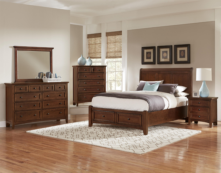 Sleigh Bed Furniture Set