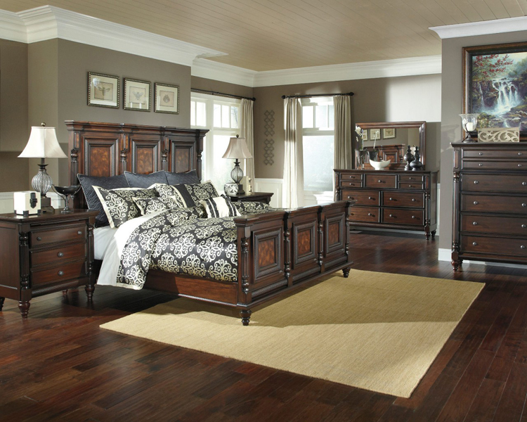 Liberty lagana furniture in meriden ct the key town collection by ashley furniture - Key town bedroom set ...