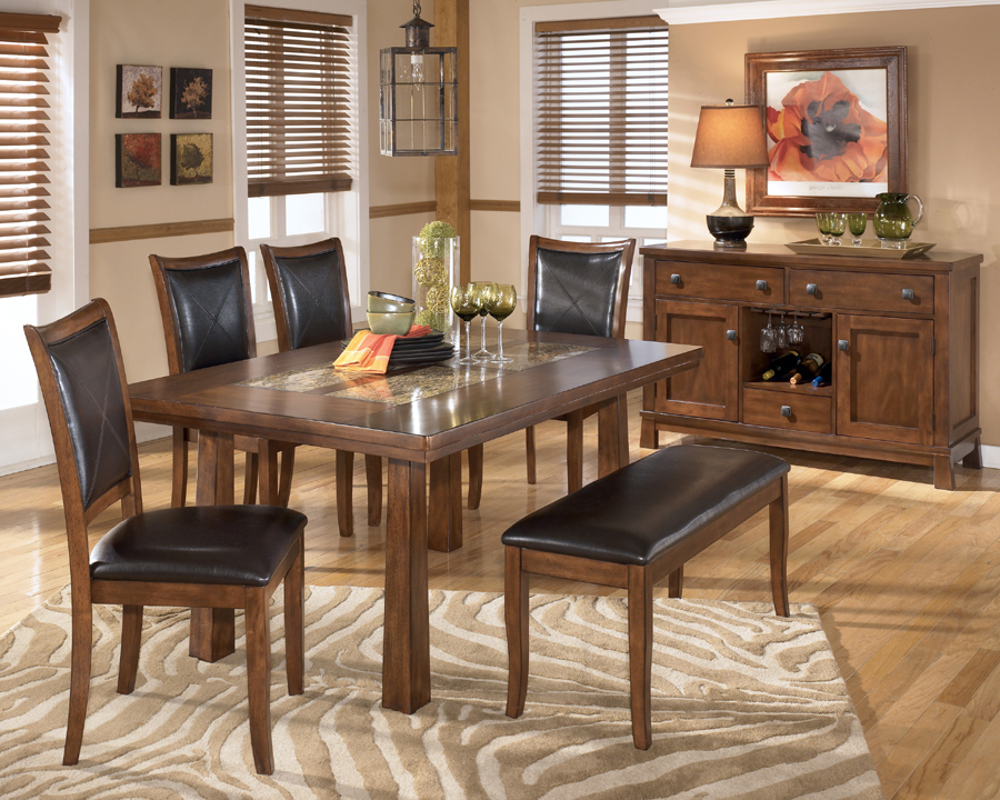 Ashley furniture dining sets for Liberty lagana living room sets