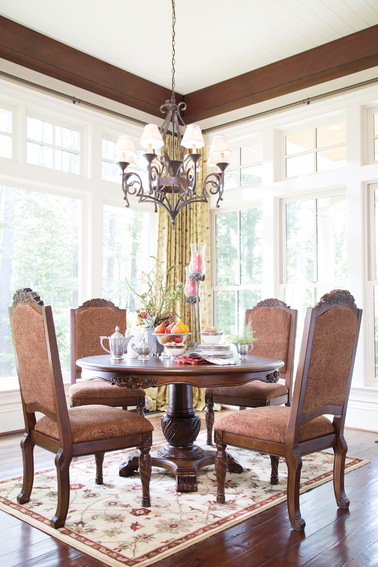 """North Shore Round Pedestal Dining Room Set From Ashley: Liberty Lagana Furniture In Meriden, CT: The """"North Shore"""