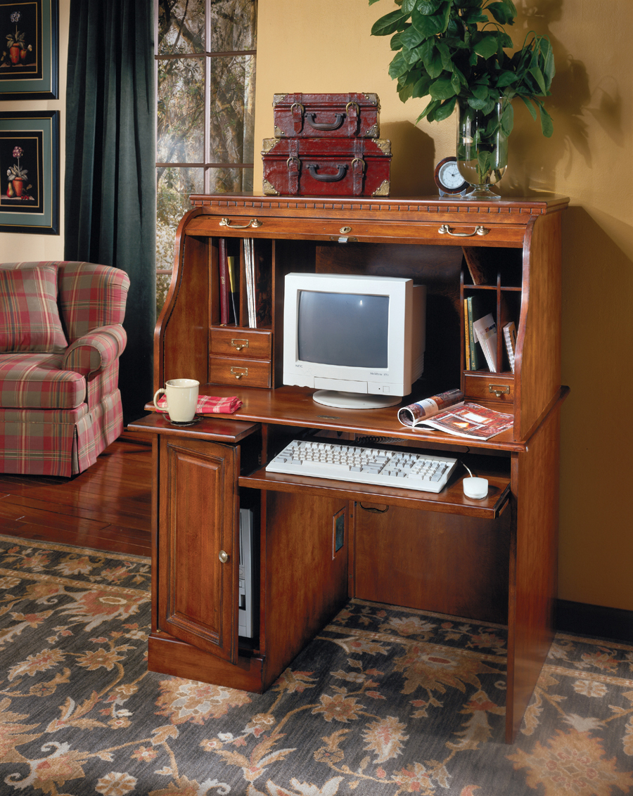 Liberty Lagana Furniture In Meriden Ct The Glen Eagle Roll Top Desk By Ashley Furniture
