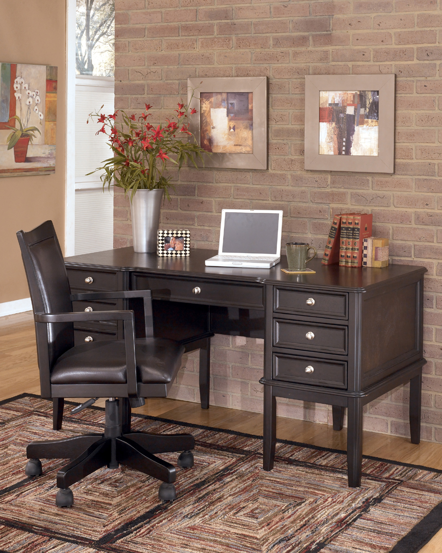 Liberty lagana furniture in meriden ct the quotcarlyle for Ashley furniture home office collection