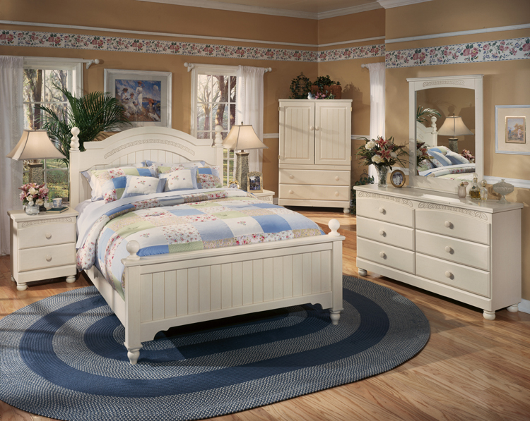 Liberty lagana furniture the cottage retreat collection by ashley furniture Cottage retreat collection bedroom furniture