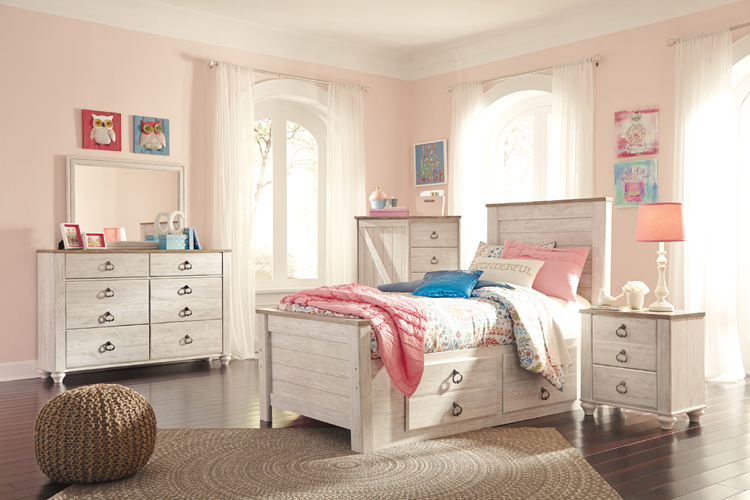 Liberty Lagana Furniture In Meriden Ct The Quot Willowtown Quot Youth Bedroom By Ashley Furniture