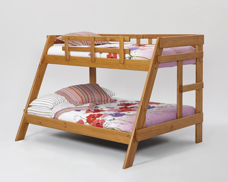 Liberty Lagana Furniture In Meriden, CT: The A2650 Twin/Full Bunk Bed By  Woodcrest