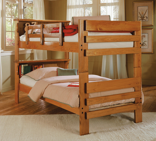 liberty lagana furniture in meriden ct the bk1100 bookcase bunk bed by woodcrest. Black Bedroom Furniture Sets. Home Design Ideas