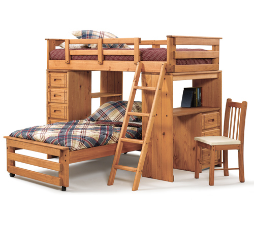 Liberty Lagana Furniture In Meriden Ct The W1150 39 Woody Creek 39 Student Loft Bunk Bed By Woodcrest