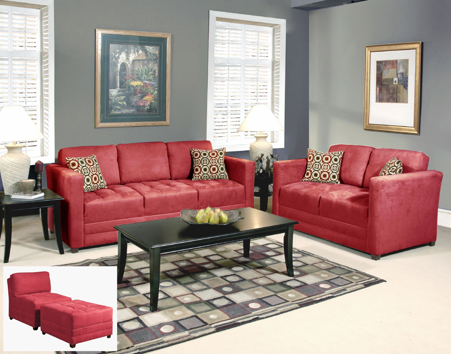 Liberty Lagana Furniture In Meriden CT The Godiva Red Collection
