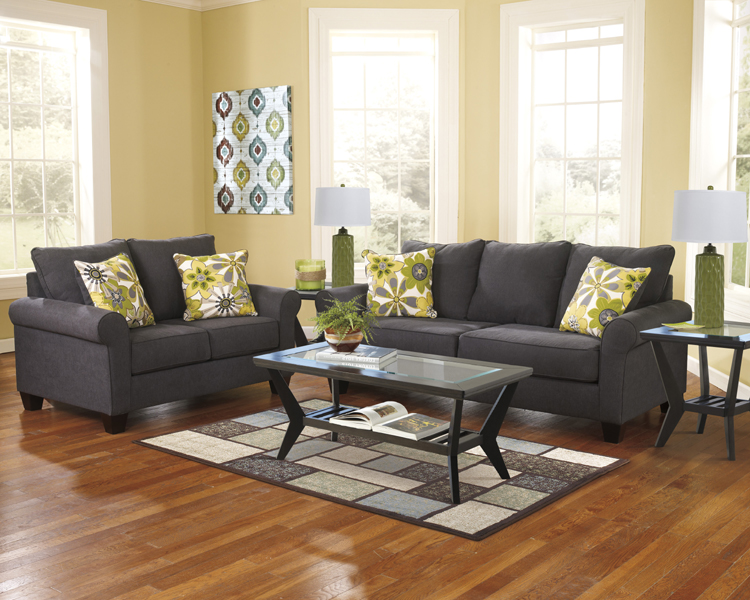 Liberty Lagana Furniture In Meriden Ct The Nolana Charcoal Collection By Ashley
