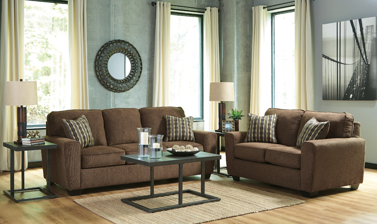 Liberty Lagana Furniture In Meriden Ct The Landoff Walnut Living Room Collection