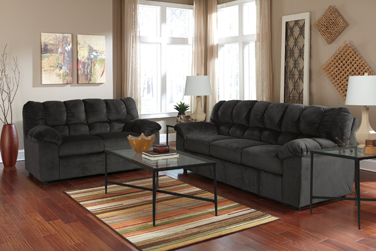 Liberty Lagana Furniture In Meriden Ct The Julson Ebony Living Room Collection