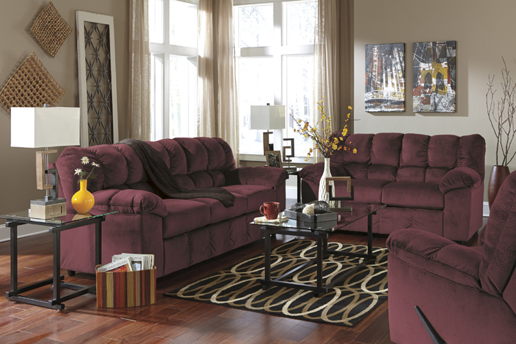 "rustic julson burgundy living room set | Liberty Lagana Furniture in Meriden, CT: The ""Julson ..."