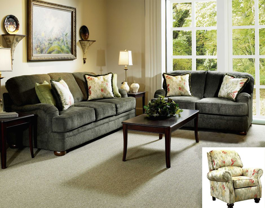 Liberty Lagana Furniture In Meriden Ct The Richmond Green Living Room Collection