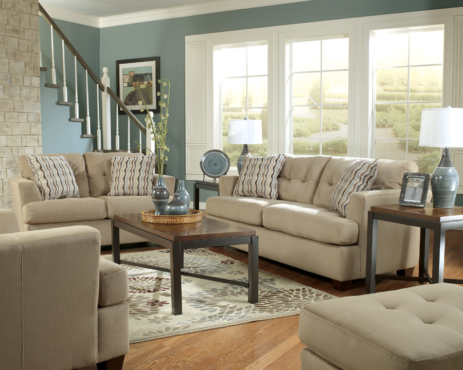 Liberty lagana furniture in meriden ct the dallas khaki for Living room decor sets