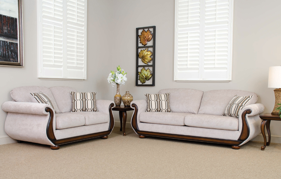 Linen Living Room Furniture Mauricio
