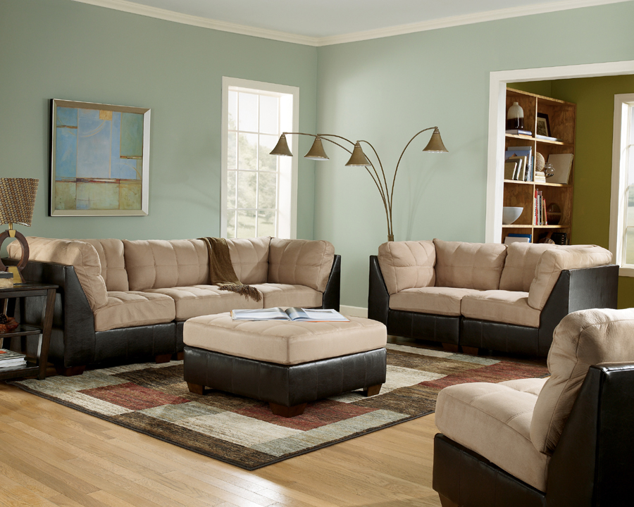 Liberty Lagana Furniture In Meriden Ct The Gable Mocha Build Your Own Sectional By Ashley
