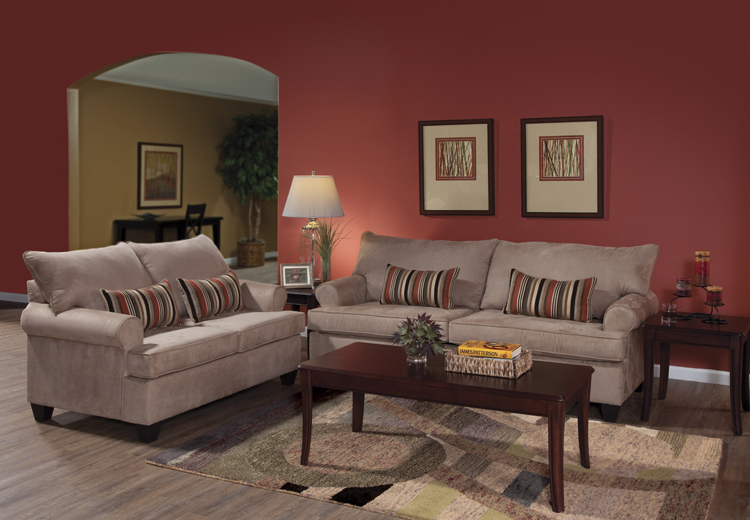 Liberty Lagana Furniture In Meriden Ct The Lourdes Mocha Collection