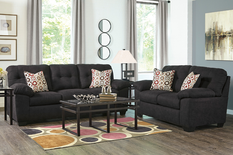 Liberty Lagana Furniture In Meriden Ct The Ackerly Ebony Living Room Collection