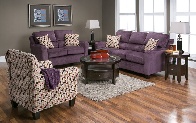 Liberty Lagana Furniture In Meriden Ct The Kassius Plum Living Room Collection