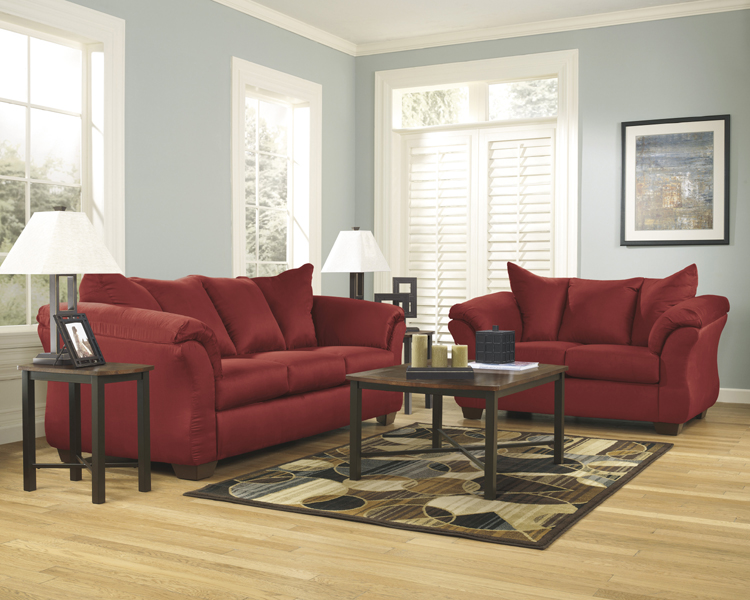 Liberty Lagana Furniture In Meriden Ct The Darcy Red Collection By Ashley Furniture