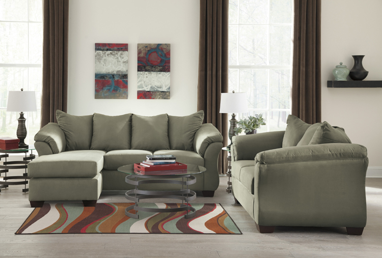 "Liberty Lagana Furniture in Meriden, CT: The ""Darcy Sage"" Collection by Ashley Furniture"