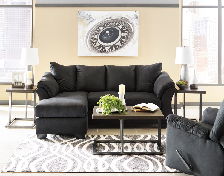 Liberty Lagana Furniture In Meriden Ct The Darcy Black Collection By Ashley Furniture