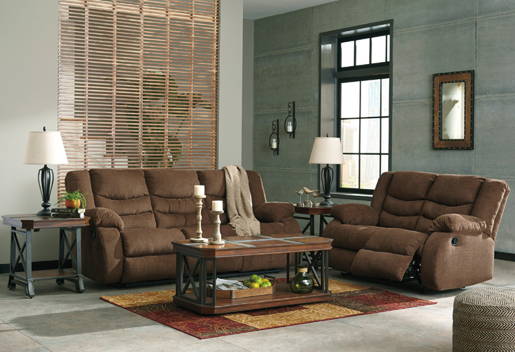 Liberty Lagana Furniture In Meriden Ct The Tulen Chocolate Living Room Collection By Ashley