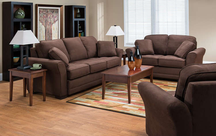 Liberty Lagana Furniture In Meriden Ct The Highland Walnut Living Room Collection