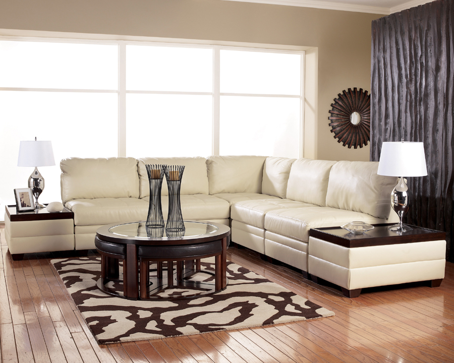 Liberty Lagana Furniture In Meriden Ct The Aero Ivory Sectional By Ashley Furniture