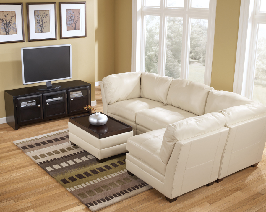 q track shape sectional ivory inspire shipping overstock by l torrington linen product today garden free home classic arm