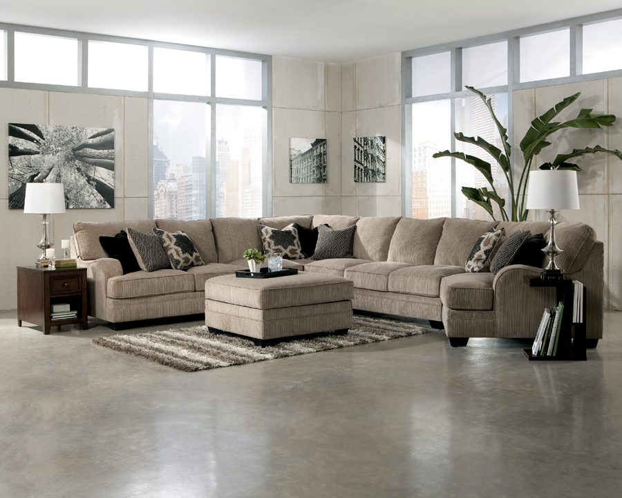 Katisha 1 on Ashley Furniture Katisha Sectional