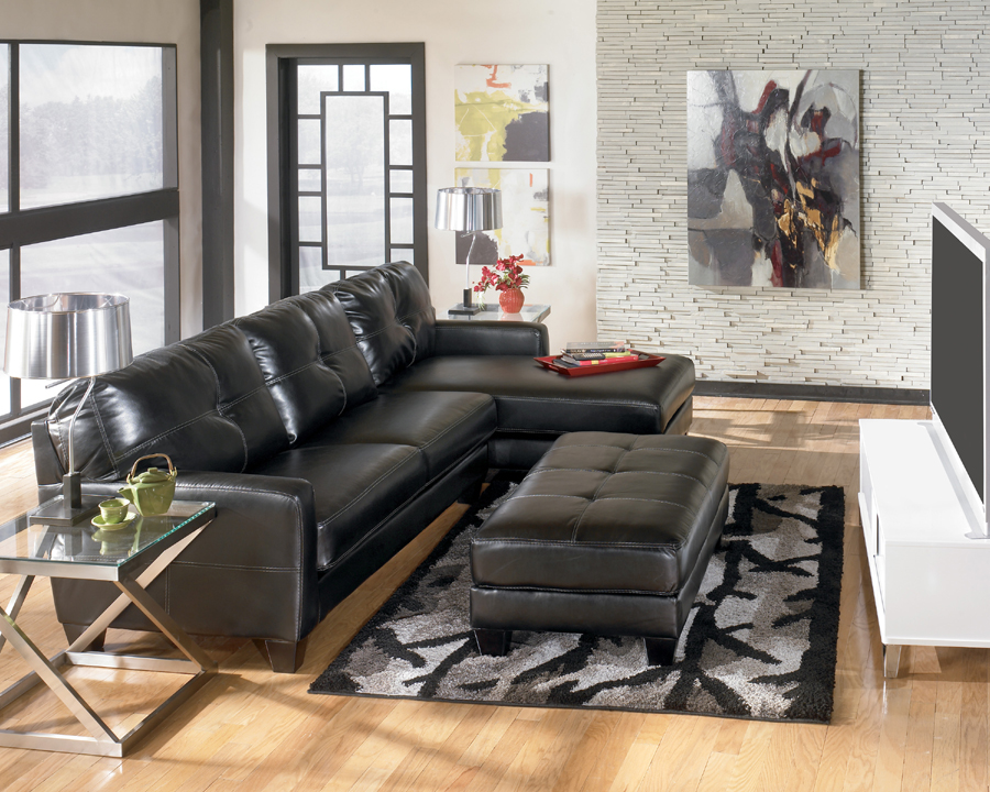Liberty Lagana Furniture In Meriden Ct The Stockholm Black Sectional By Ashley Furniture
