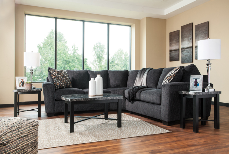 liberty lagana furniture in meriden ct the wixon slate sectional by ashley furniture