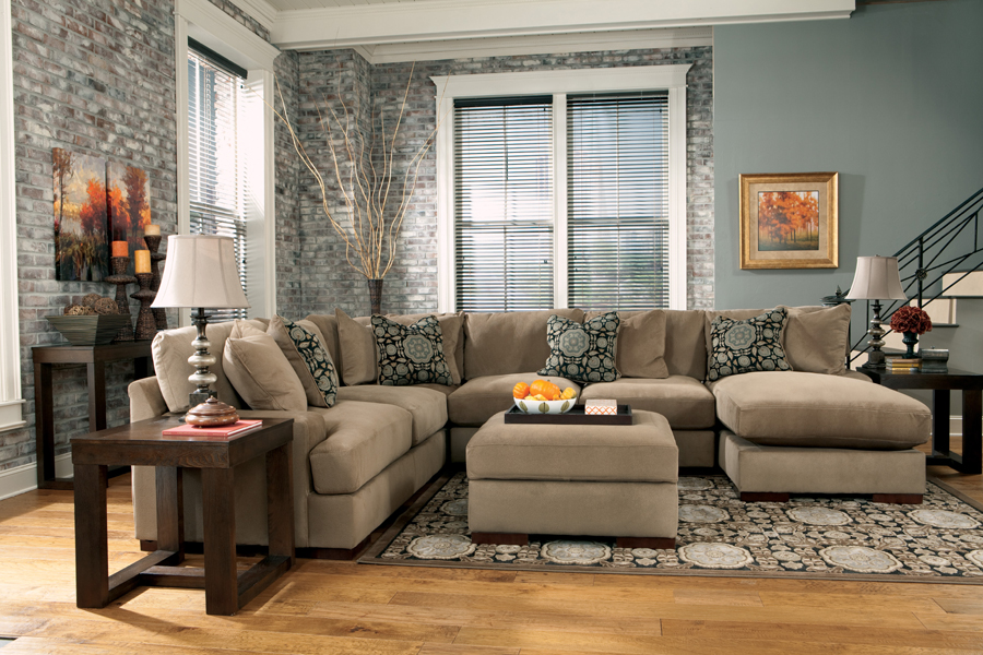 Liberty Lagana Furniture in Meriden CT The  Grenada Mocha  Sectional by Ashley Furniture : ashley mocha sectional - Sectionals, Sofas & Couches