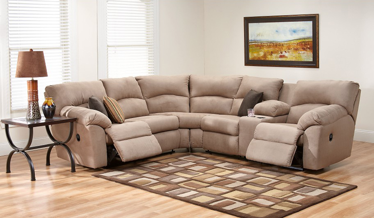 "Liberty Lagana Furniture in Meriden CT The ""Amazon Mocha"" Section"